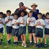 Head Coach of Championship 7-8 year old flag football team