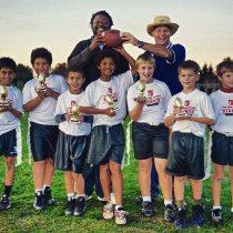 Head Coach of Championship 7-8 year old flag football team
