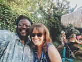 With Sunnyvale neighbor & friend Erin M.