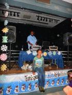 Volunteer DJ at the Laurelwood Elementary Snowball dance